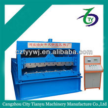 glazed silo corrugated side panel roll foming