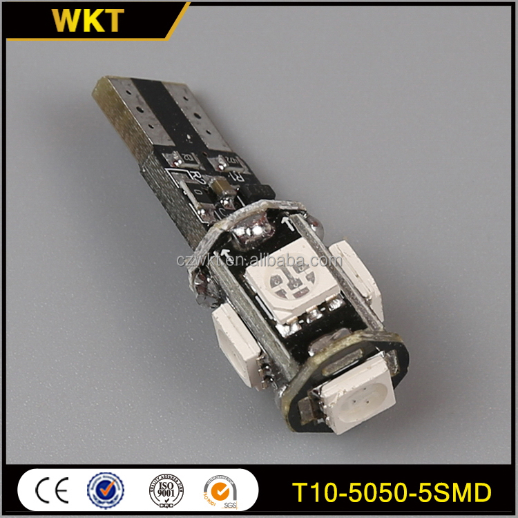 New style quality T10-5050-5SMD t10 led car light bulbs