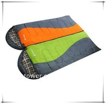 Camping travel lover double sleeping bag for 2 persons