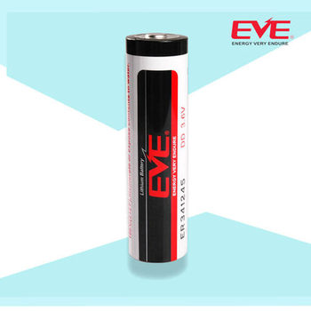 EVE Battery Lithium Primary ER341245 Lisocl2 Bobbin Type Batteries Lithium Thionyl Chloride Battery