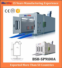 China supplier auto paint booth air filter/auto spray paint machine/spray painting line