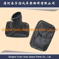 Gear shifter Stick lever cover leather gaiter boot with frame for Opel factory wholesale price