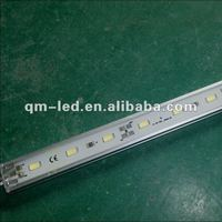 IP68 waterproof U-shape aluminum groove smd5630 led rigid strip