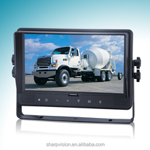 9 inch widescreen car monitor for heavy duty and truck with digital panel