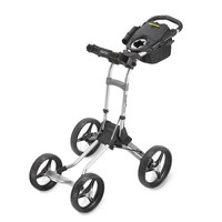 2014 Bagboy Quad Plus 4 Wheel Golf Push Cart - Silver