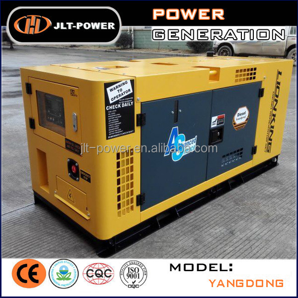 2017 Hot Sales: Sound Proof Electric Motor Diesel Generator 10KVA from JLT Power