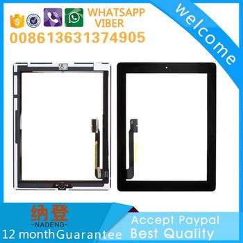 Lowest price OEM screen digitizer for ipad 3 accept paypal