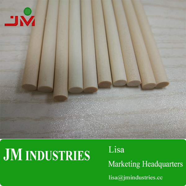 China factory beech wood dowels rod with FSC certification