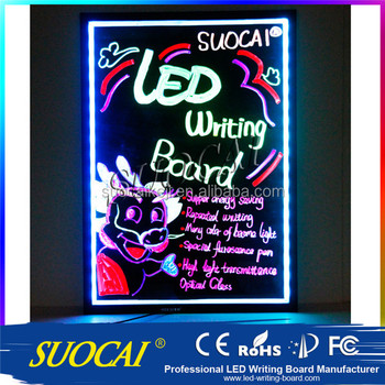 Wholesale magic led writing board for outdoor advertisment