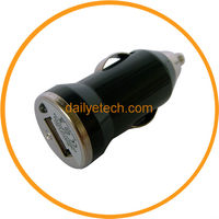 Rapid Premium USB Automobile DC Car Charger for Mobile Phones Black from Dailyetech