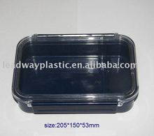 food grade plastic food compartment container for home use