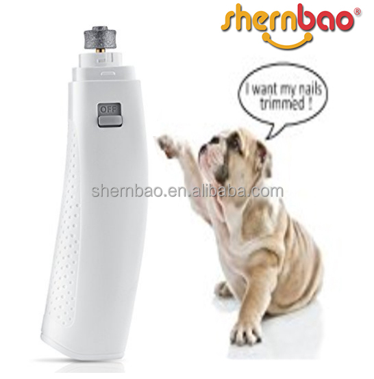 Shernbao PNG-007 Dogs, Cats Safe, Quiet & Painless Electric Trimmer Grooming Kit Pet Nail Grinder