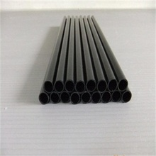 Round black metal steel pipe welding for structure