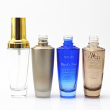 Factory wholesale high quality clear glass oil bottle for Lancome