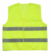 waterproof police Fluorescent yellow/orange Reflective Safety Vest