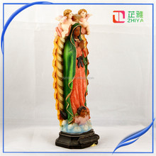 Religious mary figurines, Resin virgin mary statues,Lady Of Guadalupe