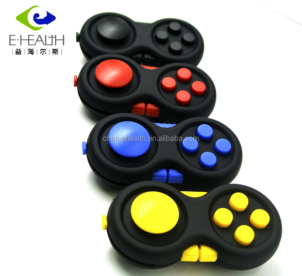Newest design 2017 relax fidget cube anti stress Toy Fidget Pad