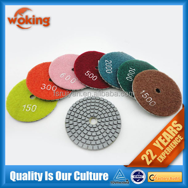 Diamond Wet And Dry Polishing Pad