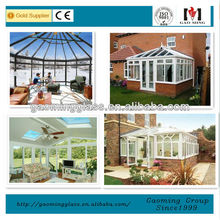 Hot Sale! aluminium winter garden with thermal break aluiminium energy saving glass for Norway Market
