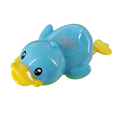 Plastic floating duck bath toy