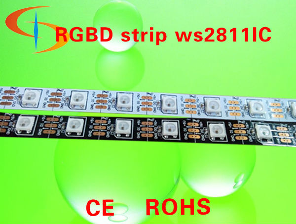 digital led strip 5V WS2811 5V Led rgb pixel strip dmx control WS2812b ADS-10060-WS2811