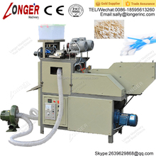 Computer PLC Process Control Plastic Rod | Bamboo | Wood | Paper Cotton Swabs Making Machine