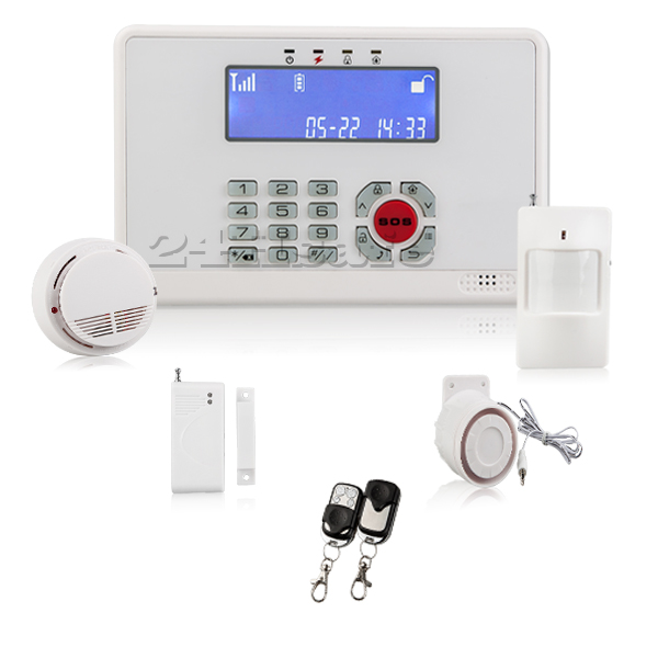 Control Wireless Alarm & Home Automation App software