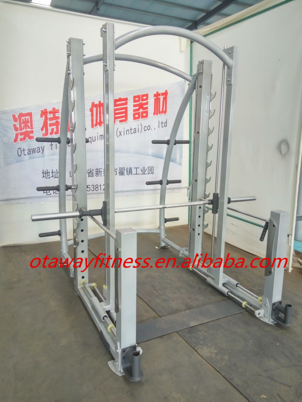 New Style Gym Equipment/Dual Action Smith machine /fitness equipment(T17-032)