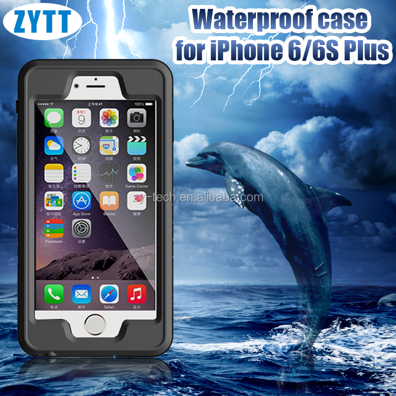 Useful slim waterproof cell phone case for iphone6 plus for waterproof iphone case
