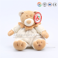 Factory direct sale New design plush toy organic baby teddy bear toys