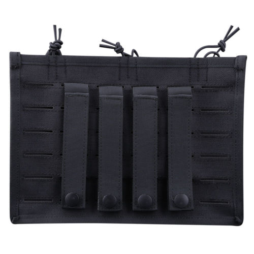 Laser Cut Hunting Rifle Magazine Insert Bungee Triple Pouch