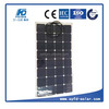 50W/60W/70W/75W High efficiency USA cell Semi Flexible Solar Panel Make in China for World market
