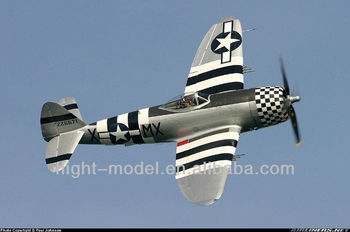 Popular Warbirds P-47D F025 r/c airplane model toy
