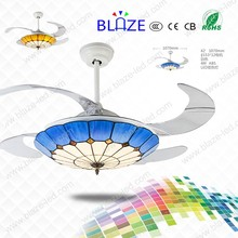 Hot sell in Europe 42inch/32inch ceiling fan with led light