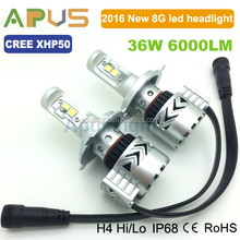 NEW Brightest LED headlight G8 H4 6000LM