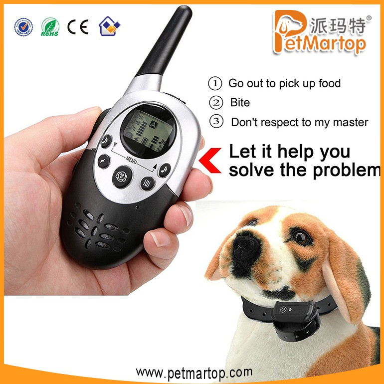 Hot Easy Pet Training Collar TZ-PET613N Newly Wonderful Upgraded Remote Training Bark Stopper