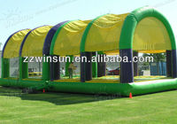 Durable 0.55MM PVC inflatable volleyball court field