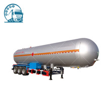 Brand new 20T LPG Semi Trailer 2 Axle LPG Road Tanker with low price
