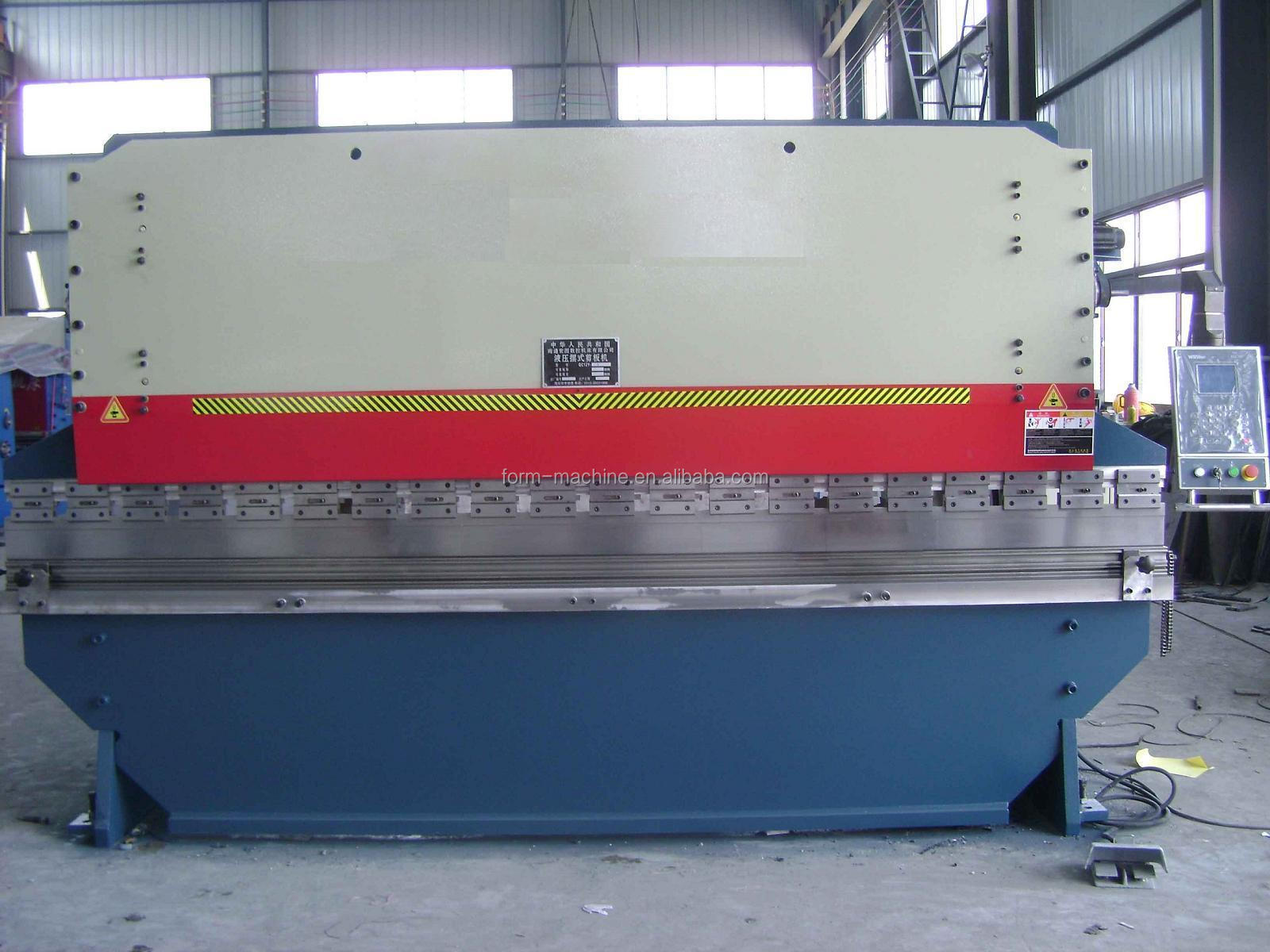 Delem Angle Programming Control hydraulic press brake bending machine