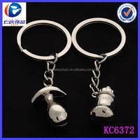 Fancy Baby Items Style Bottles and nipples Shaped Lovers Key Chain