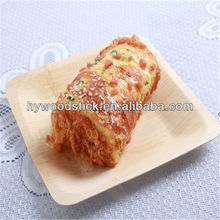 New Catering Sanitary Biodegradable Bamboo Bread Tray