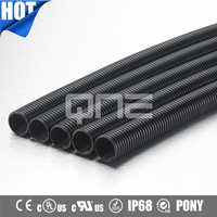 CE IP68 Polyamide Flexible Electrical Corrugated Conduit