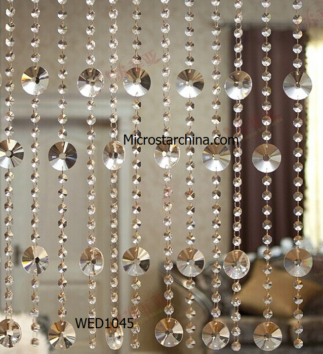2015 in stock decorative crystal hanging glass beads - Hanging beads for doorways ...