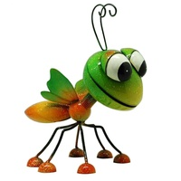 wholesale newest gardening metal animals iron butterfly Garden Ornaments
