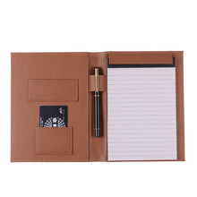 Traveler A4 Size oem notebook factory eco notebook with pen holder
