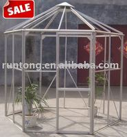 Qingdao RUNTONG Cold Frame, Walk In Greenhouse,Aluminum Hexagon Greenhouse