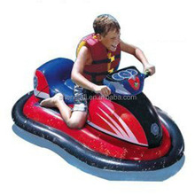 CN factory fashion kids small toy cars / land air kart ride on pvc kids inflatable toy car