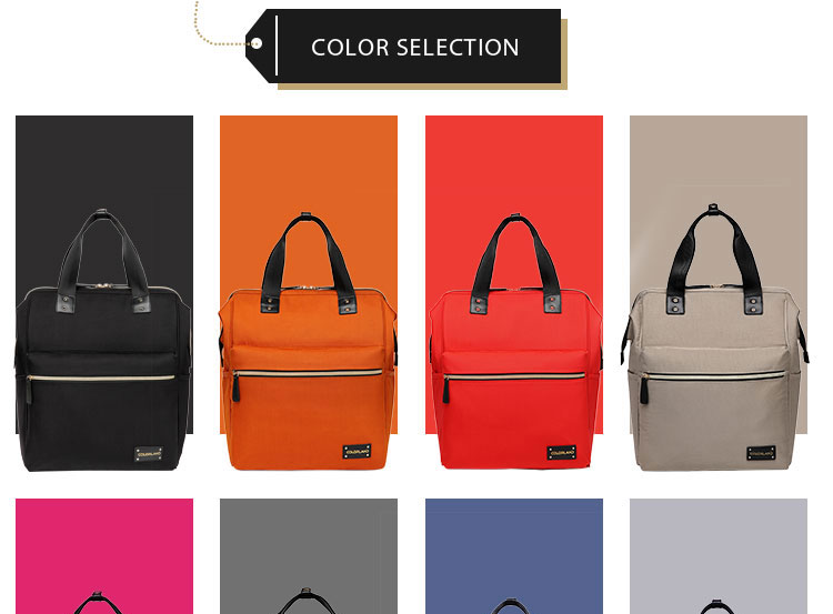 COLORLAND Competitive Price In Stock Mummy Bag Changing Backpack For Outing