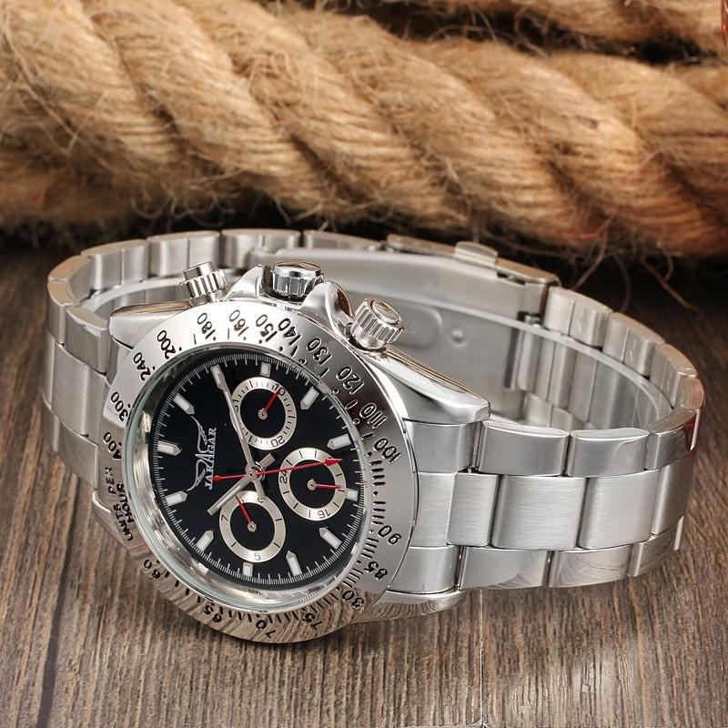 2016 Новый Бренд Часы masculino relógio автоматические механические швейцарские часы мужчины лучший бренд класса люкс hombre старинные золотые часы