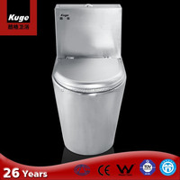 2015 Steel Kuge Eco-friendly Siphon Portable Pvc Toilet